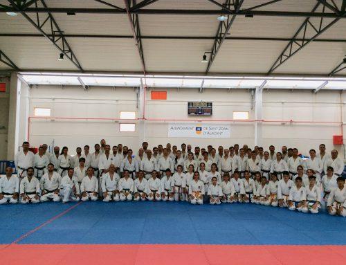 Gran seminario de  JKS-España impartido por Masao Kawaga Shihan